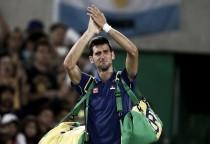 """Novak Djokovic: """"Es una decepción para mí, pero me alegro por Del Potro"""""""