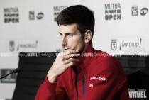 """Novak Djokovic: """"Tener altibajos puede ser normal en los primeros partidos"""""""