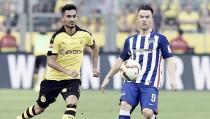 Hertha de Berlín - Borussia Dortmund Bundesliga 2016. Ni Hertha ni Dortmund consiguen arrancar