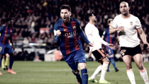Liga - Il Valencia spaventa il Barcellona, poi ci pensa Messi: 4-2 al Camp Nou
