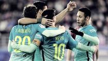Liga - Il Barcellona passeggia con l'Eibar: 0-4 targato MSN
