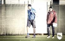 Pescara - Stendardo presente alla ripresa degli allenamenti, fatta per Ledesma