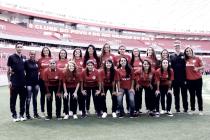 """Internacional reinicia atividades pelo futebol feminino: """"Voltaram para ficar"""""""