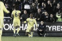Shrewsbury Town 1-2 Chelsea: Blues scrape into last 8 at expense of fantastic Shrews