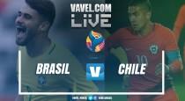 Resultado Brasil x Chile pelo Sul-Americano Sub-20 (0-0)
