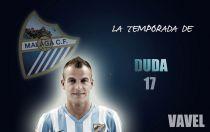 Málaga 2014/2015: la temporada de Sergio Paulo Barbosa 'Duda'