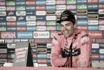 """Tom Dumoulin: """"Es muy especial estar de rosa en los Países Bajos"""""""