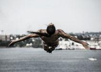 Orlando Duque, cuarto lugar en Red Bull Cliff Diving 2014