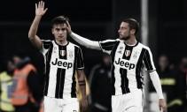 Juventus - Dybala ed Allegri commentano il poker al Palermo