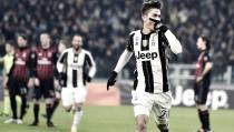 La Juventus derrota al Milan y avanza a semifinales