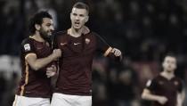 """Roma, il momento di Dzeko: """"Questo è il vero Edin, ma ora non dobbiamo fermarci"""""""