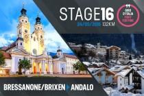 Posiciones etapa16 del Giro de Italia 2016: Bressanone-Brixen - Andalo