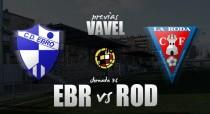 CD Ebro – La Roda CF: El Ebro no se juega nada y la Roda todo
