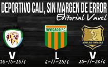 Deportivo Cali, sin margen de error