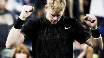 US Open 2016: Edmund beats Isner to set up Djokovic clash