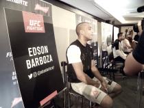 """Sem lutar desde julho, Edson Barboza exalta trabalho para novo duelo: """"Treinado para não errar"""""""