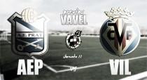 Previa AE Prat - Villarreal B: A seguir con las buenas sensaciones en un campo difícil