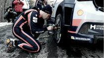 Neuville pierde las opciones de ganar el Rally de Montecarlo