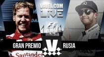 Carrera GP de Rusia de Fórmula 1 en directo online 2016