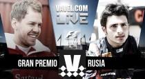 Clasificación GP de Rusia 2016 de Fórmula 1 en vivo minuto a minuto