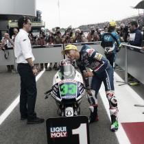 La lluvia ayuda a Bastianini a conseguir la pole position