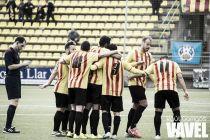 Fotos e imágenes del U.E. Sant Andreu 2 - 1 Hércules CF, jornada 25 de 2a División B Grupo III