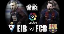 Visando recuperar a vice-liderança, Barcelona visita Eibar no Ipurúa, onde nunca sofreu gols