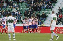 El Elche quiso pero no pudo con el Atlético de Madrid