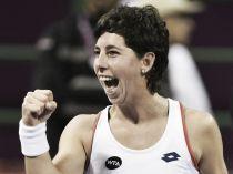 Carla Suárez remonta a Radwanska y accede a cuartos en Miami