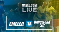 Resultado y goles Emelec 1-0 Barcelona SC en el Clásico del Astillero 2017