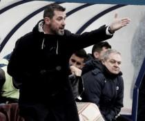 """Emilio Larraz: """"El equipo solo estaba nervioso por la importancia de ganar"""""""