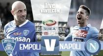 Empoli - Napoli in diretta, Serie A 2016/17 LIVE (2-3): il Napoli rischia, ma passa al Castellani!