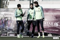 El Barça se centra en el Alavés