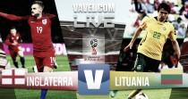 Resumen Inglaterra 2-0 Lituania en Clasificación Mundial Rusia 2018