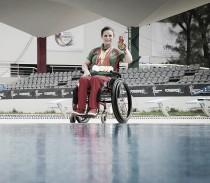 Nely Miranda, una de las preferidas para Paralímpicos
