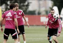 Benzema vuelve con el grupo para preparar el partido ante la Juventus