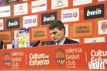 """Velimir Perasovic: """"La clave ha estado en los rebotes de ataque que nos han cogido"""""""