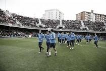 Entrenamiento tras certificar el pase a la Final de Copa del Rey