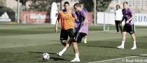 Primera sesión de trabajo sin Cristiano ni Bale