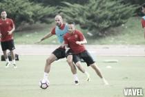 El Almería trabaja para empezar a ganar