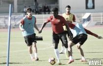 El Almería pone sus miras en el encuentro del domingo ante el Mallorca