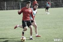 El Almería ultima su preparación de cara al partido ante el Getafe