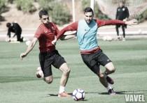 El Almería completa un nuevo entrenamiento con las miras puestas en el Levante