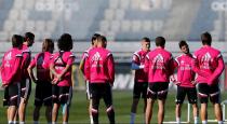 Segundo entrenamiento de la semana previo a la visita a Bilbao