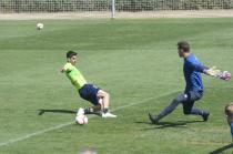 El Granada CF se prepara para visitar al Sporting con tres entrenamientos