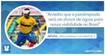 """Entrevista. Melhor do mundo no futebol de 5, Jefinho afirma: """"Rio 2016 será um divisor para nossa visibilidade"""""""