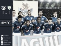 Millonarios - La Equidad: puntuaciones de Millonarios, fecha 1 Copa Águila