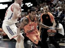 Valencia consigue su primera victoria en Euroliga