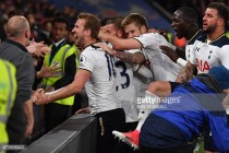 Crystal Palace 0-1 Tottenham Hotspur: Eriksen snatches winner as Spurs secure record points total