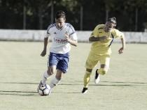 El Real Zaragoza vence al Almudévar en el partido de las peñas